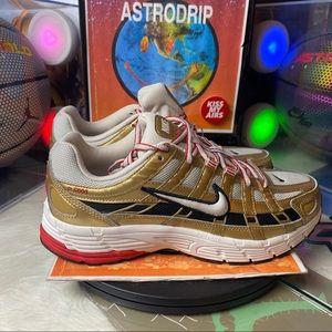 🆕 NikeWmns P-6000 Metallic Gold - Size: Wmns 8